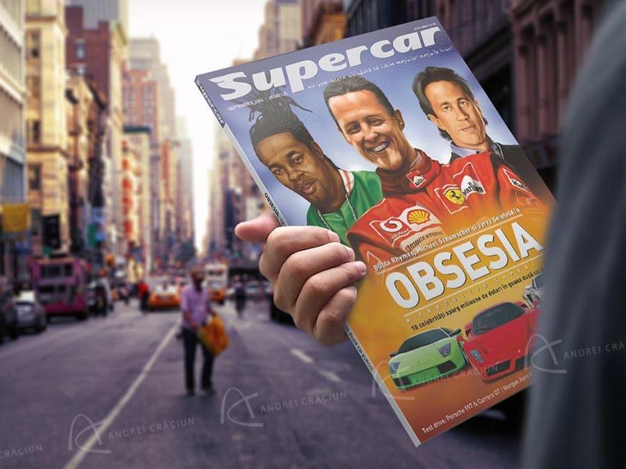 supercar magazine hand 3 new