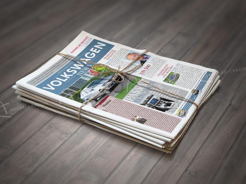 Volkswagen news ziar B