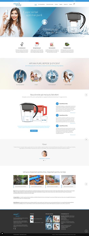 aqua optima website 1