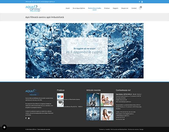 Aqua Optima • Website