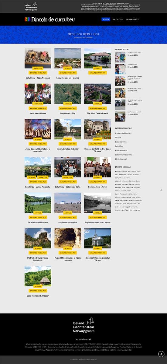 Dincolo de curcubeu • Website